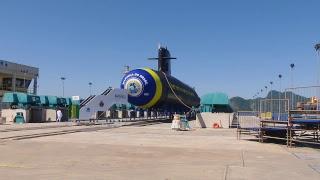 Cerimônia de Lançamento do Submarino Riachuelo - Complexo Naval de Itaguaí