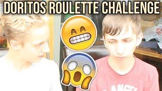 DORITOS ROULETTE CHALLENGE w/ Harry | CHALLENGE | Sam Tucker