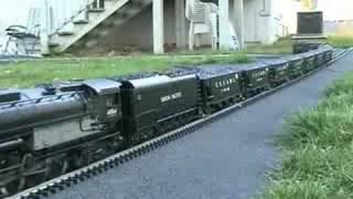 mth union pacific big boy garden railroad video 17