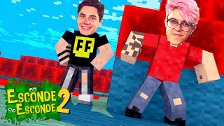 VIDA REAL NO MINECRAFT! (Esconde-Esconde 2)