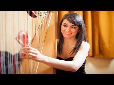 Beautiful & Relaxing Harp Music | 1 Hour of Instrumental Music