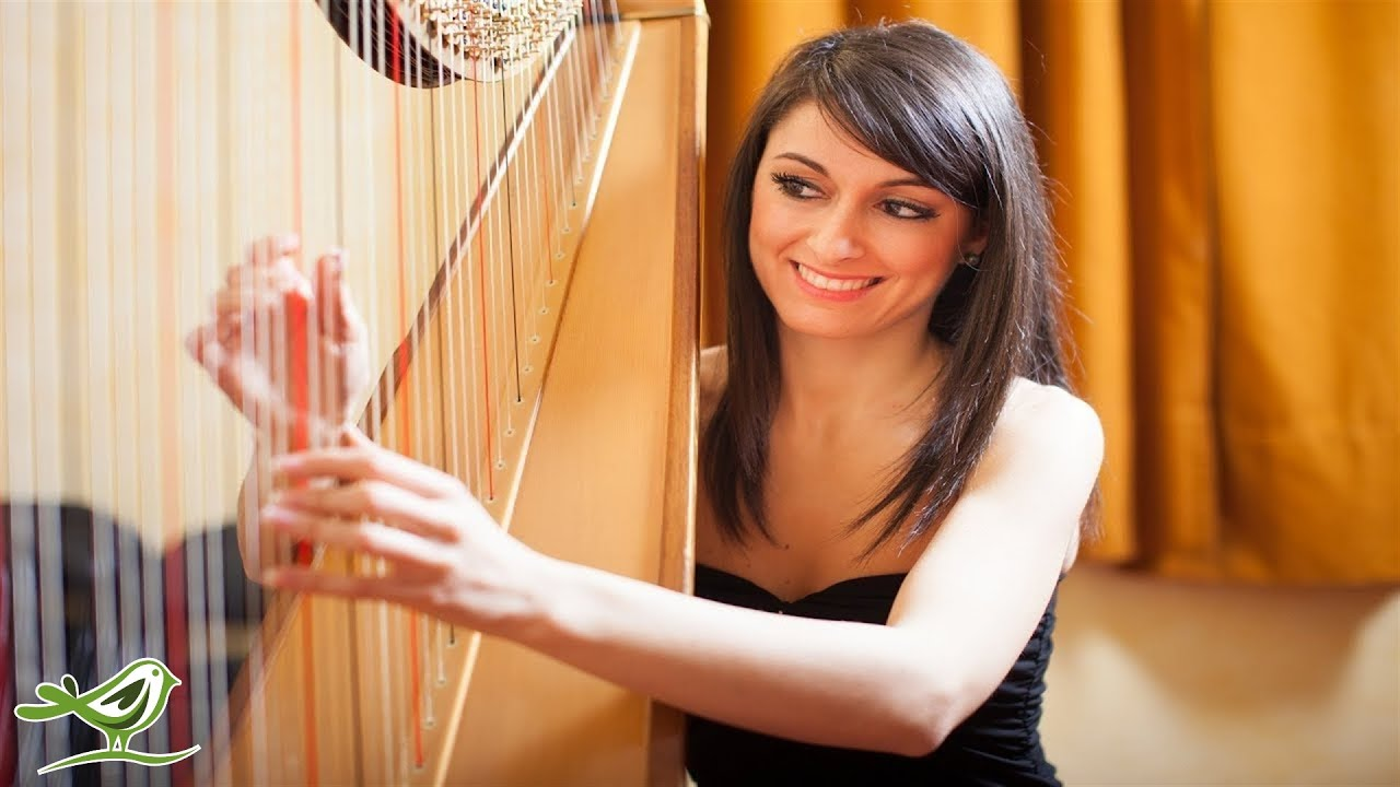 Beautiful Relaxing Harp Music 1 Hour Of Instrumental Music Youtube