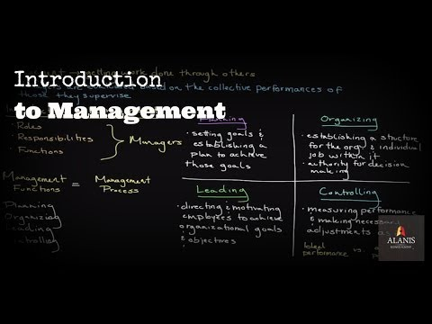 Introduction to Management: A Look Into the Management Process