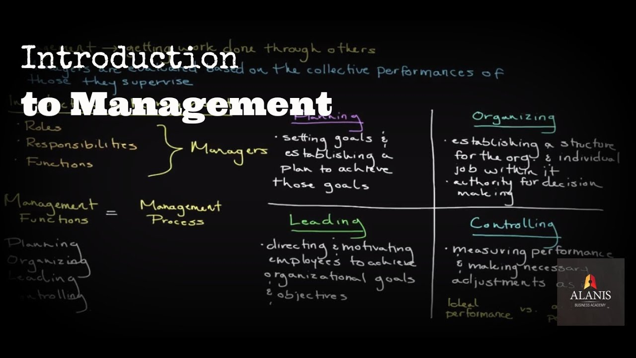 Episode 140  Introduction To Management  A Look Into The