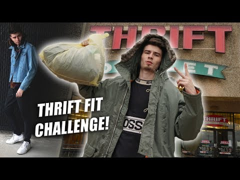 UNDER $10 THRIFT FITS! DRESS FRESH FOR LESS | CHALLENGE