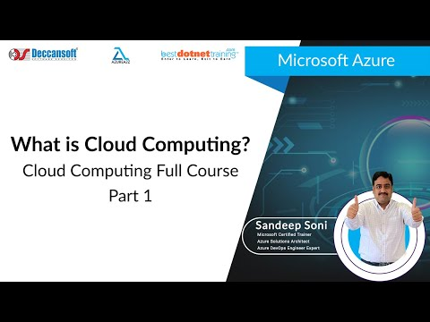 Cloud Computing Tutorial for Beginners - 1 | What is Cloud Computing? | Microsoft Azure