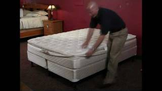 InnoMax Air Bed Instructional Assembly Video On Softside Mattresses(The InnoMax air bed assembly video shows the proper installation of your pillow top, bolster rail assembly, air chambers, air inflator, connections, controls and ..., 2011-08-06T18:25:33.000Z)