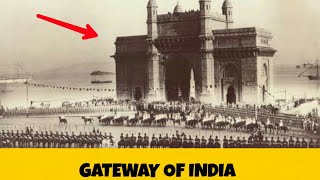 The Gateway of India   Construction   History   in English