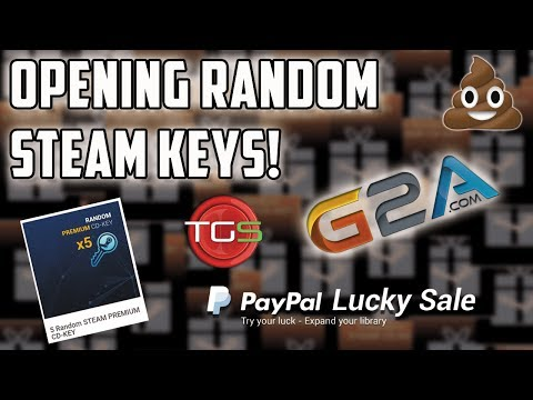 Opening 5 Random Premium Steam CD Keys! What a load of CR*P!!