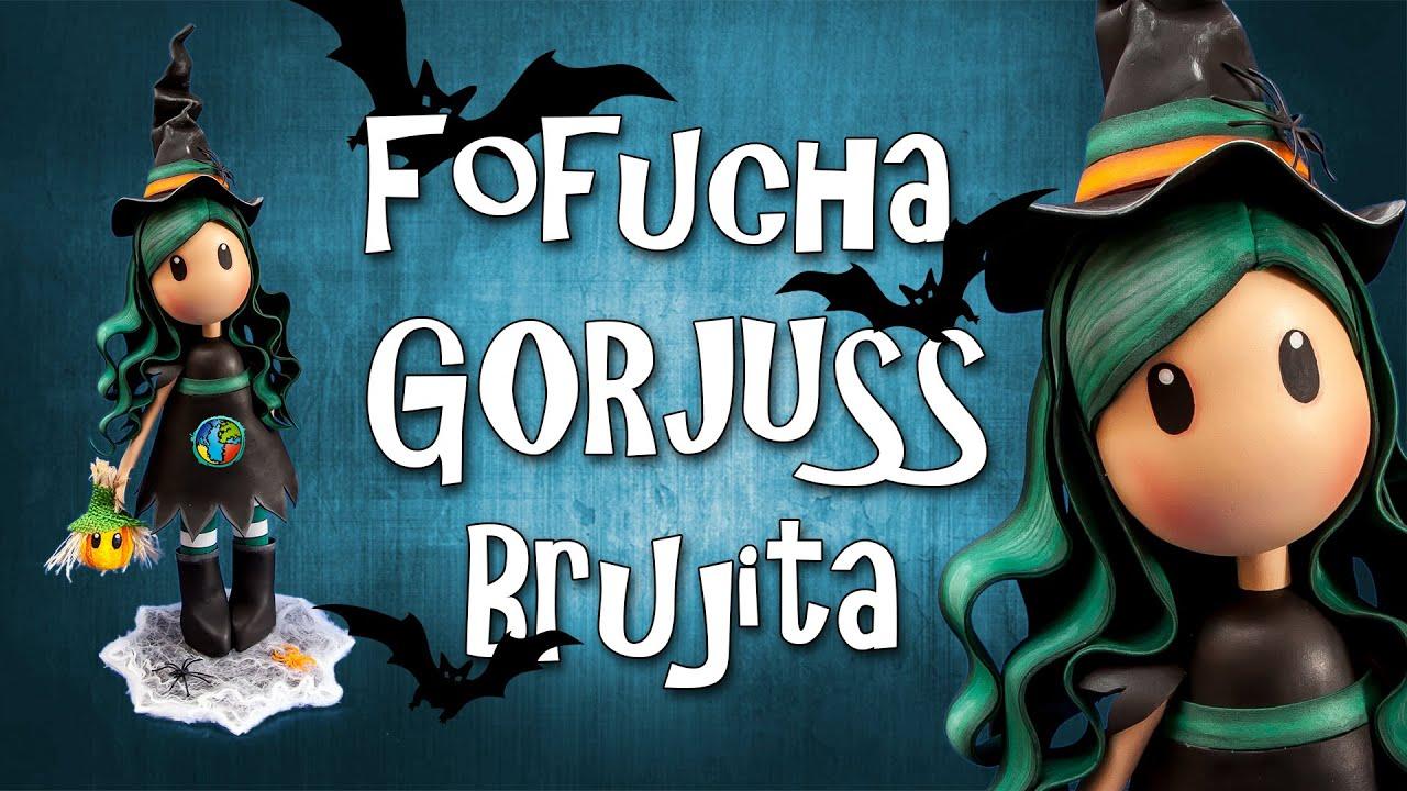 d8ff2601ac0 Fofucha Gorjuss Brujita - Goma Eva - Foamy - YouTube