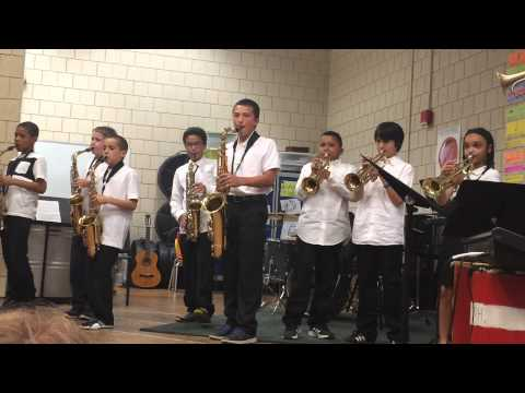 Mission Hill School music horns