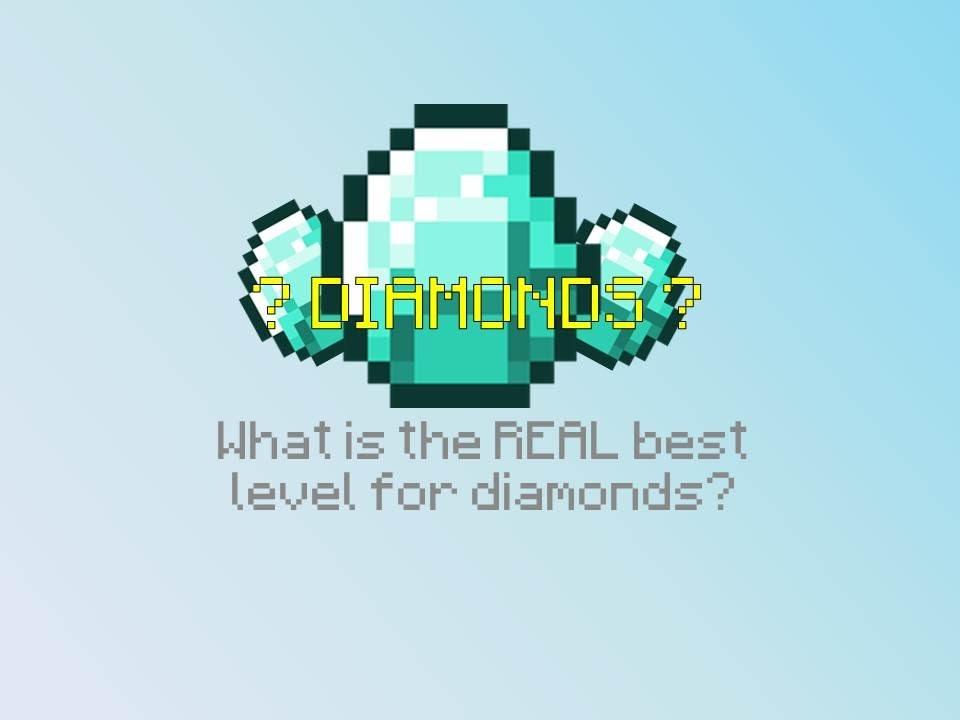 Minecraft What's Best Level For Diamonds? Minecraft ...