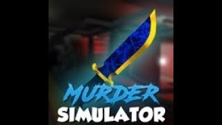 Roblox, Murder Simulator: Emerald Knife!