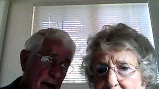 Webcam 101 for Seniors....(Trying to learn how to use their new computer! Bruce and Esther Huffman from McMinnville, OR AKA -
