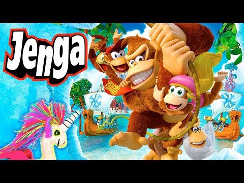 DK Country Tropical Freeze Tie & Jenga Donkey Kong Collector's Edition Spin-A-jSALEj #11