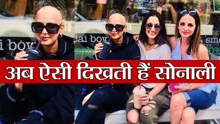 Sonali Bendre's Bald Look during treatment goes viral, shares picture on Friendship day | FilmiBeat