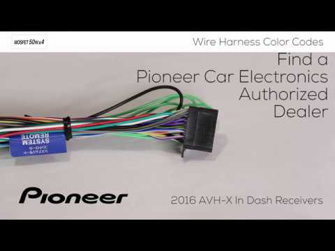 how to understanding wire harness color codes for pioneer. Black Bedroom Furniture Sets. Home Design Ideas