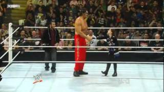 WWE Raw 2/14/11 Funny Kiss Cam