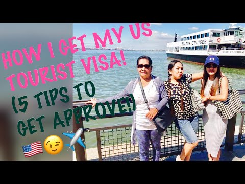 US B1/B2-HOW I GET MY MULTIPLE ENTRY VISA!(5 TIPS TO GET APPROVE!)😉🇺🇸✈️