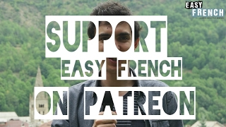 Easy French - Support us on Patreon!