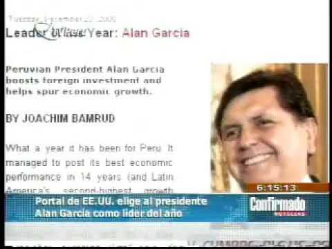 Latin Business Chronicle elige al mejor Presidente  del año 2008