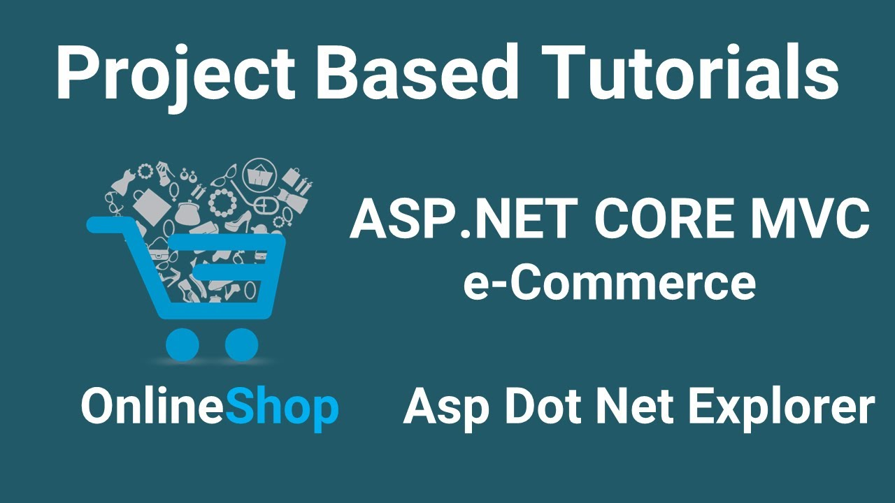 Asp.Net Core MVC Bangla Tutorials -01 (Complete eCommerce Application)