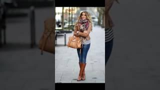 Moda 2017 Fashion 2018 vestidos inviernos