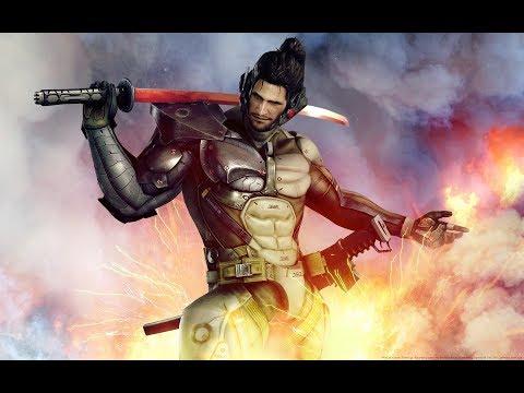 Metal Gear Rising: Jetstream Sam DLC - Blade Wolf Boss - Revengeance (S Rank) No Damage