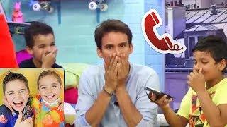 BOYZ TV  CANULAR TELEPHONIQUE A SWAN THE VOICE [PRANK]