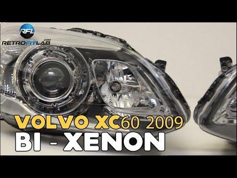Volvo XC60 2009+, Bi-xenon projector instructions