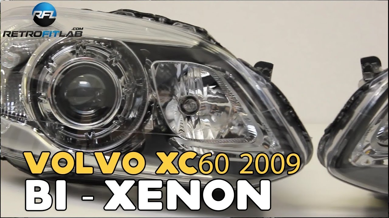 volvo xc60 2009 bi xenon projector instructions [ 1280 x 720 Pixel ]