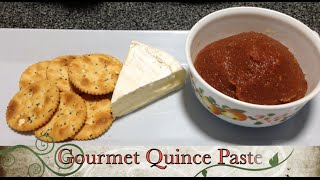 Gourmet Quince Paste Cheekyricho Thermochef Tutorial