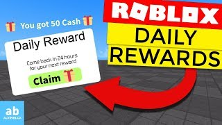 How To Make A Daily Reward - Roblox Scripting Tutorial