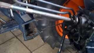 Naprawa mini traktora Kubota 6000. www.traktorki.waw.pl