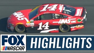 Bowyer Wins Open Stage One, Bayne Has Huge Save   2017 ALL-STAR RACE   FOX NASCAR