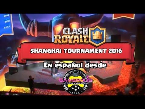 ¡¡TORNEO DE 100.000 PERSONAS EN SHANGHAI!!  En español desde Gamépolis | Clash Royale