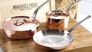 Mauviel - M Heritage M250C Copper Sauce Pan video