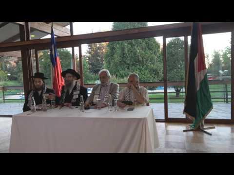 Rabbi Speaking at Palestine Club