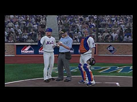 MLB 13 The Show - A baseball simulation of the Montreal Expos vs the New York Mets