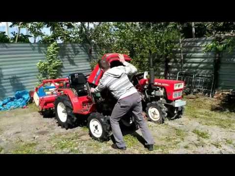 Продам. Японский мини трактор 4WD Yanmar Ke 3.