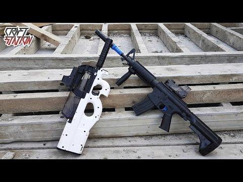 P90 M4A4 и M8 Крутые пушки на шарах орбиз прямо как в CS:GO