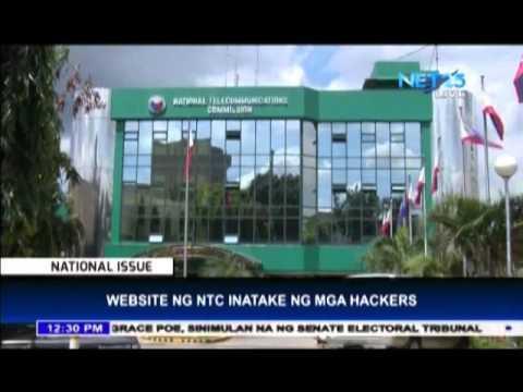 Hackers attack NTC website