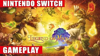 Legend of Mana Remastered Nintendo Switch Gameplay