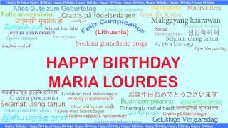 MariaLourdes   Languages Idiomas - Happy Birthday