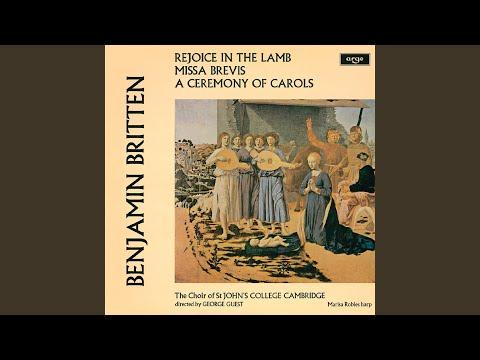 Britten: Ceremony of Carols, Op.28 - 6. As dew in Aprille mp3