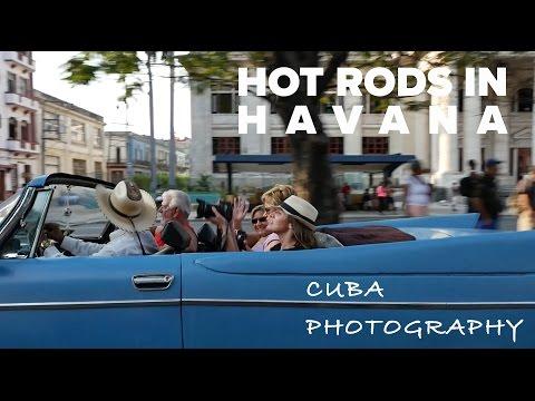 Cuba Photography Vlog #2 - Hot Rods in Havana