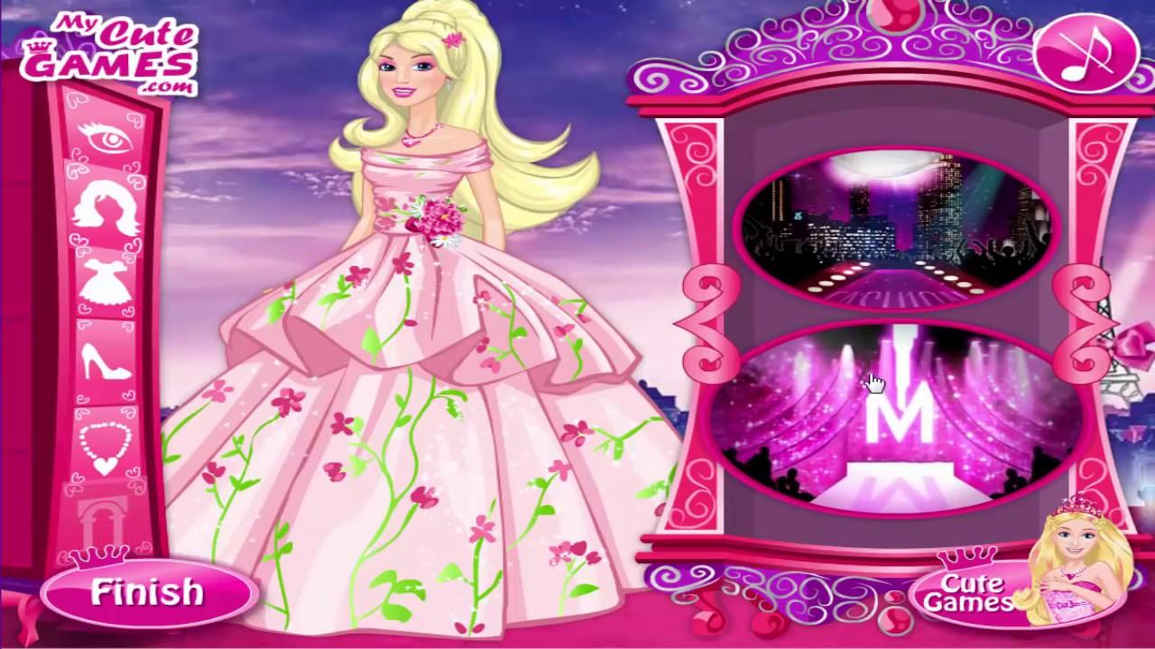 Barbie Dress Up Games Barbie A Fashion Fairytale Dl Entertainment Channel Youtube