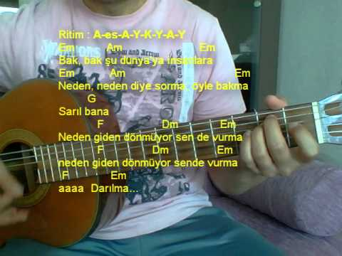 Gitar Dersi - Sar Beni Başkasına Yasakla (Gökhan Türkmen)