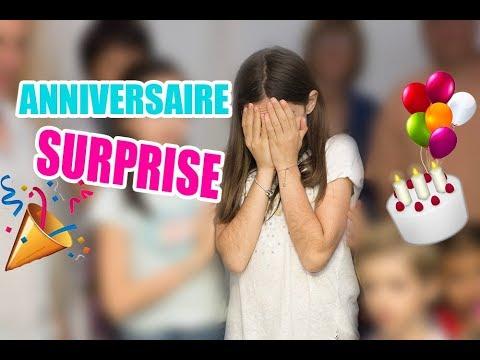 ANNIVERSAIRE SURPRISE POUR MES 13 ANS  🎂