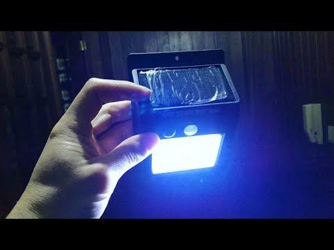 20 LED Outdoor Wireless Solar Light – Black – www.gearbest.com